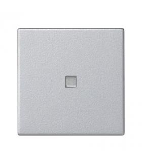 Klawisz K45 z podświetleniem kolor biały 45×45mm aluminium K114/8