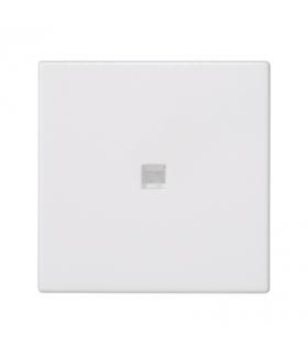 Klawisz K45 z podświetleniem kolor biały 45×45mm czysta biel K114/9