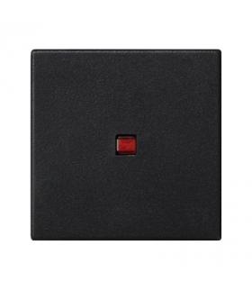 Klawisz K45 z podświetleniem kolor czerwony 45×45mm szary grafit K112/14