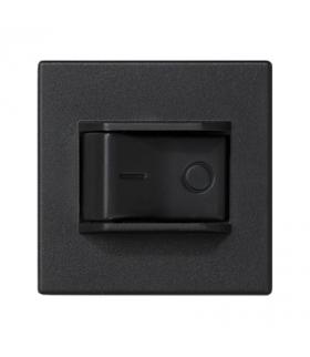 Wyłącznik nadmiarowo-prądowy K45 charakterystyka C 10A 250V 45×45mm szary grafit K106A/14
