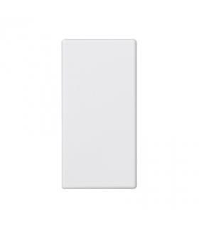 Zaślepka K45 45×22,5mm czysta biel K105/9