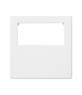 Plakietka przyłączeniowa K45 do złącza GESIS® pojedyncza 45×45mm czysta biel K18/9