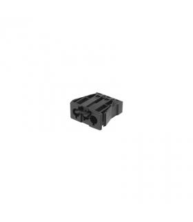 Gniazdo męskie GESIS® złącze 3-polowe 16A 250V szary grafit CR0002/14