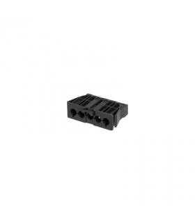 Gniazdo męskie GESIS® złącze 5-polowe 16A 400V szary grafit CR5002/14