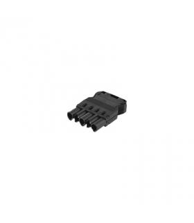 Wtyczka męska GESIS® złącze 5-polowe 16A 400V szary grafit CR5004/14