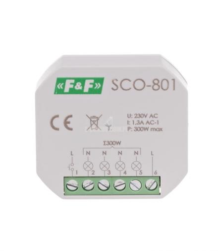 Ściemniacz oświetlenia SCO-801 230V