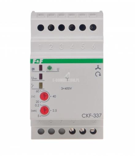 Czujnik kolejności i zaniku fazy CKF-337