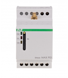 Sterownik GSM - SIMply MAX P01 dwukanałowy