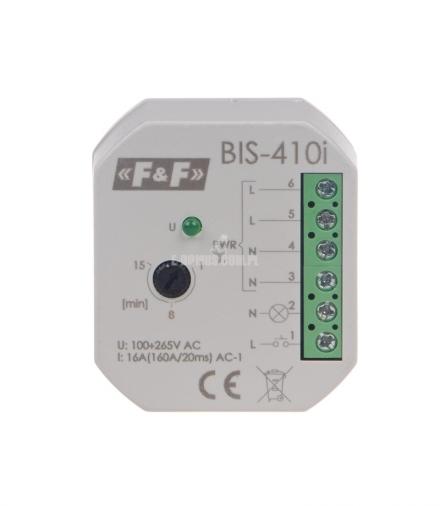 Przekaźnik bistabilny BIS-410i 230 V