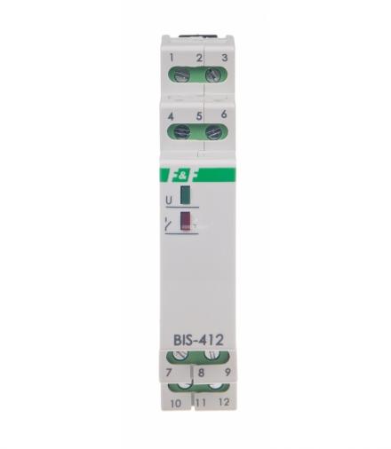 Przekaźnik bistabilny BIS-412 24 V