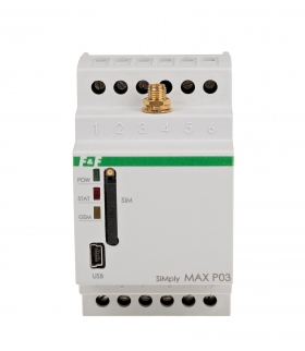 Sterownik temperatury GSM - SIMply MAX P03