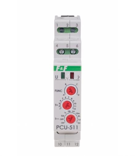 Przekaźnik czasowy PCU-511 DUO