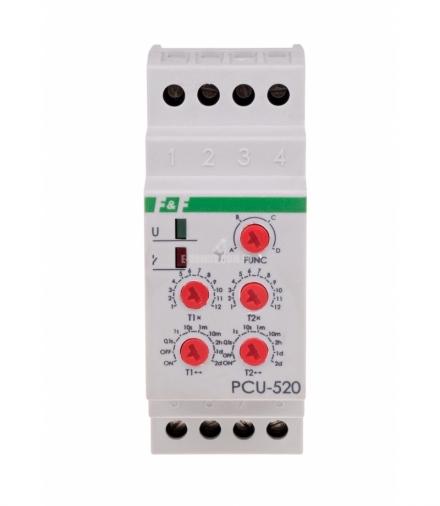 Przekaźnik czasowy PCU-520 24 V