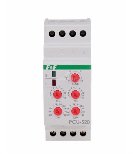 Przekaźnik czasowy PCU-520 UNI