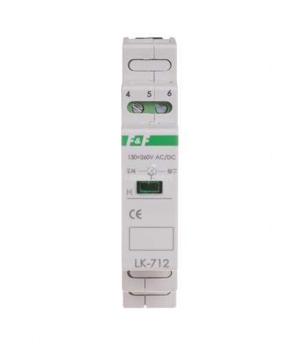 Lampka sygnalizacyjna LK-712B 130÷260 V AC/DC
