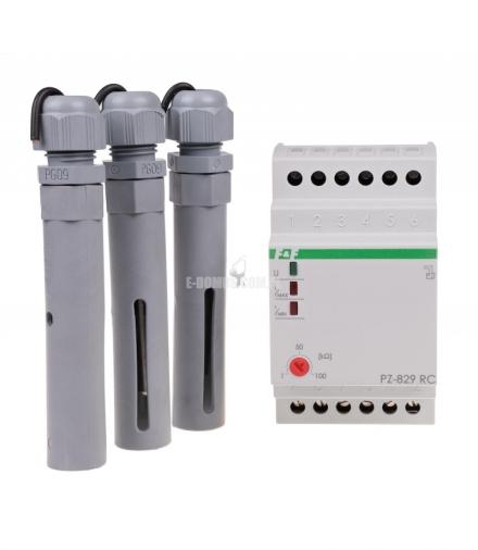 Przekaźnik kontroli poziomu cieczy PZ-829 RC