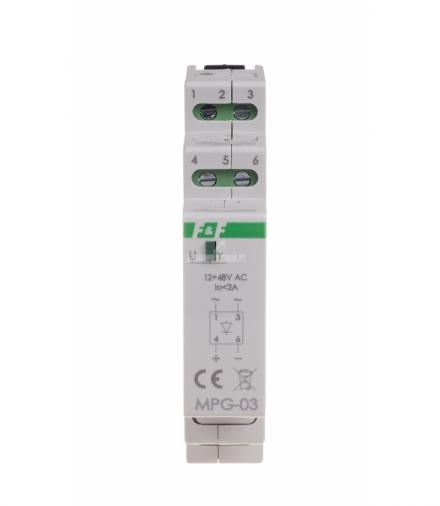 Mostek prostowniczy MPG-03 24V