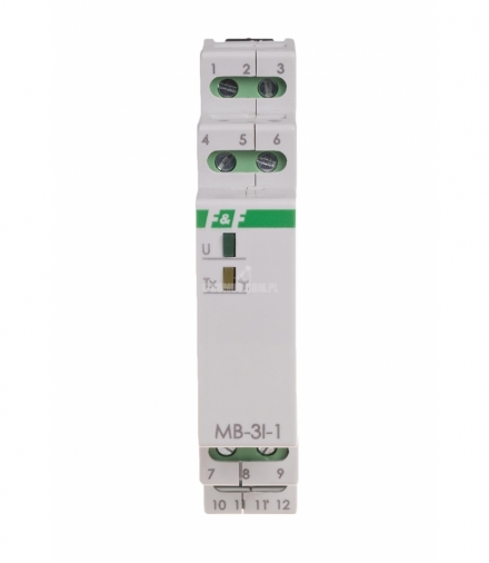 Przetwornik natężenia prądu MB-3I-1 15A