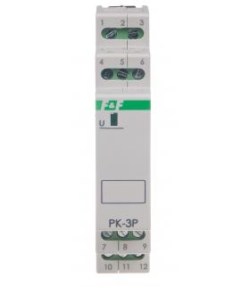 Przekaźnik elektromagnetyczny PK-3P 12 V