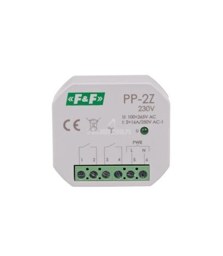 Przekaźnik elektromagnetyczny PP-2Z 230 V