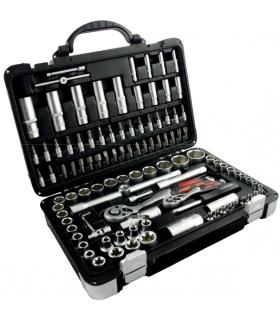 Zestaw kluczy nasadowych 108 elementów  - SCHMITH SQN-108