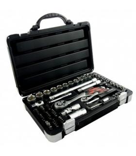 Zestaw kluczy nasadowych 72 elementów  - SCHMITH SQN-72