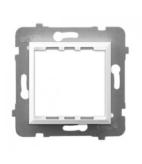 ARIA AP45-1U/m/00 Adapter podtynkowy systemu OSPEL 45 do serii Aria, BIAŁY
