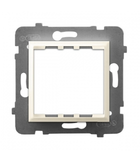 ARIA AP45-1U/m/27 Adapter podtynkowy systemu OSPEL 45 do serii Aria, ECRU