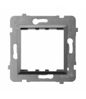 ARIA AP45-1U/m/70 Adapter podtynkowy systemu OSPEL 45 do serii Aria, SZARY MAT