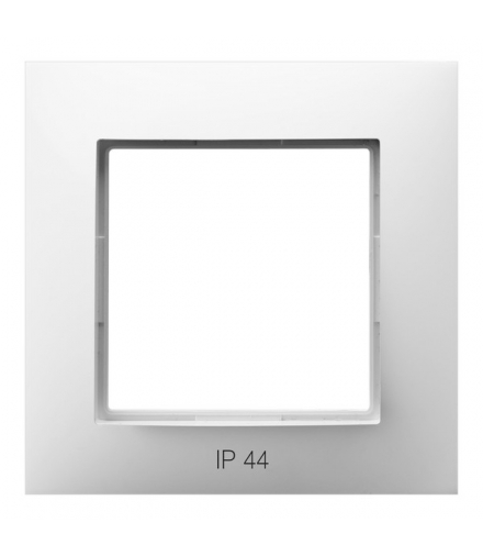 ARIA RH-1U/00 Ramka pojedyncza IP-44, BIAŁY