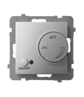 ARIA RTP-1U/m/18 Regulator temperatury z czujnikiem podpodłogowym, SREBRO