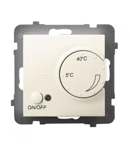 ARIA RTP-1U/m/27 Regulator temperatury z czujnikiem podpodłogowym, ECRU