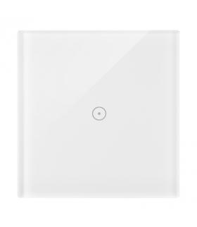 Panel dotykowy 1 moduł 1 pole dotykowe, biała perła DSTR11/70