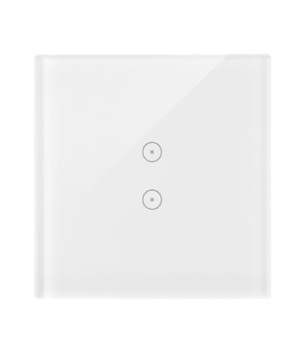 Panel dotykowy 1 moduł 2 pola dotykowe pionowe, biała perła DSTR13/70