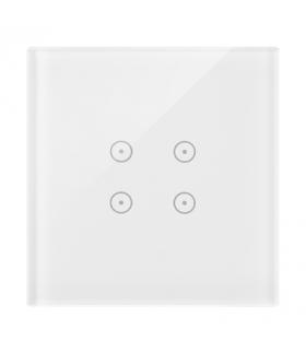 Panel dotykowy 1 moduł 4 pola dotykowe, biała perła DSTR14/70