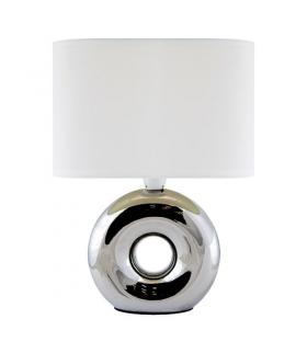 Lampka stołowa nocna GOLF E14 CHROME/WHITE IDEUS 03544