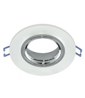 Oprawa SZKLANA oczko Pierścień ozdobny SELENA C FROSTED mrożone okrągłe IDEUS 03597