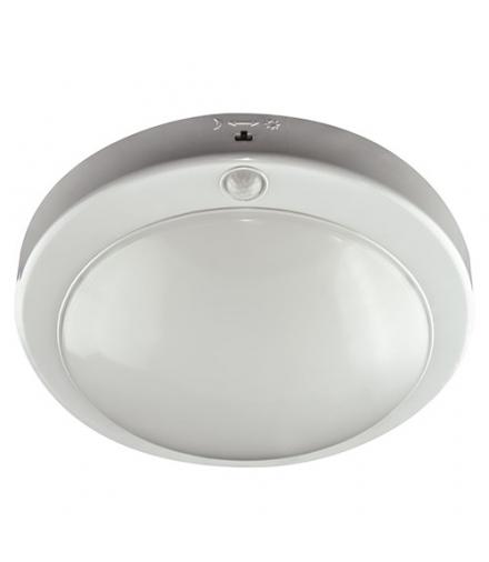 Plafoniera z czujnikiem ruchu LOPEZ LED S 18W 4000K WHITE IDEUS 03594