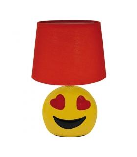 Lampka biurkowa dla dziecka EMO E14 RED IDEUS 00005