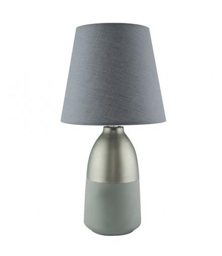 Lampka stołowa ANETA E14 GREY IDEUS 03572