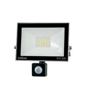 Naświetlacz SMD LED z czujnikiem ruchu KROMA LED S 30W GREY 4500K IDEUS 03606