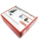 SZYLD Z KONTROLĄ DOSTĘPU EURA ELH-60B9 BRASS z czytnikiem RFID, uniwersalny rozstaw śrub mocujących