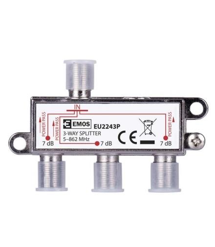 Rozgałęźnik antenowy EU2243 Power Pass EMOS J0003P