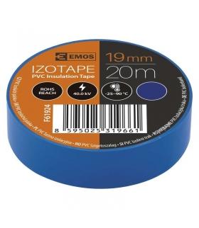 Taśma izolacyjna PVC 19mm / 20m niebieska EMOS F61924