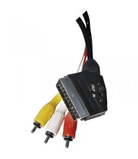 Przewód AV SCART - 3x CINCH, 1,5m EMOS SD2101