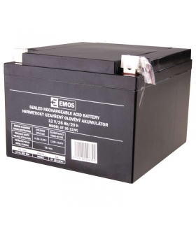 Akumulator AGM 12V 26Ah 12x 14 EMOS B9683