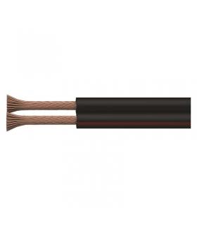 Przewód 2×0,75 CCA czarno/czerwony, 100m EMOS S8273