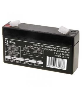 Akumulator AGM 6V 1,3Ah F4,7 EMOS B9651