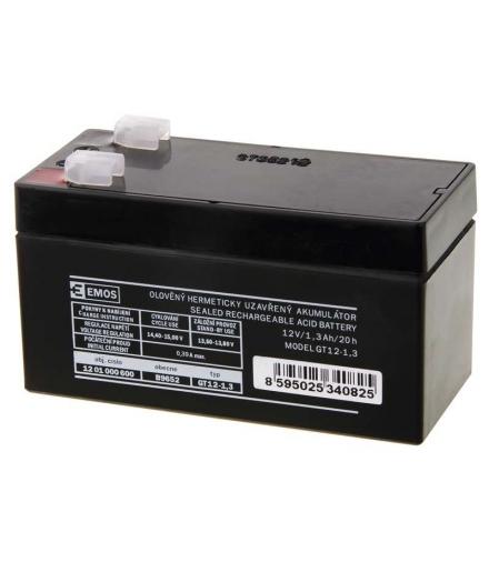 Akumulator AGM 12V 1,3Ah F4,7 EMOS B9652