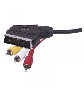 Przewód AV SCART - 3x CINCH, 1,5m EMOS SB2101